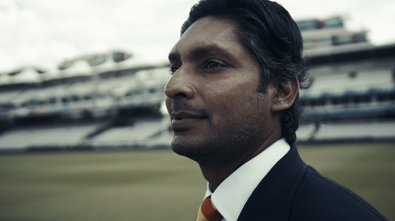 Kumar Sangakkara at Lord's in 2019.