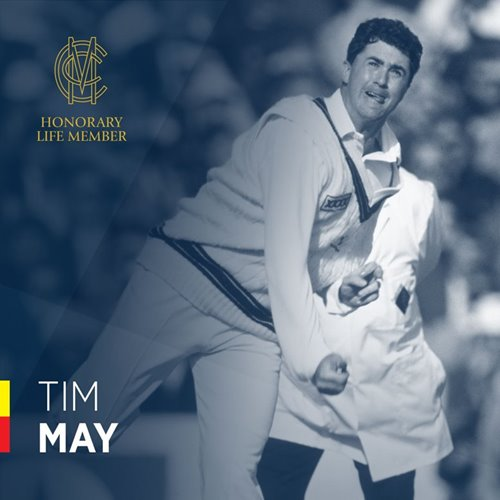 Tim May Honorary Life Member