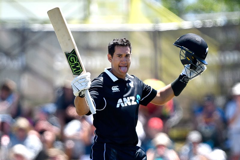 Ross Taylor scores an ODI century for New Zealand