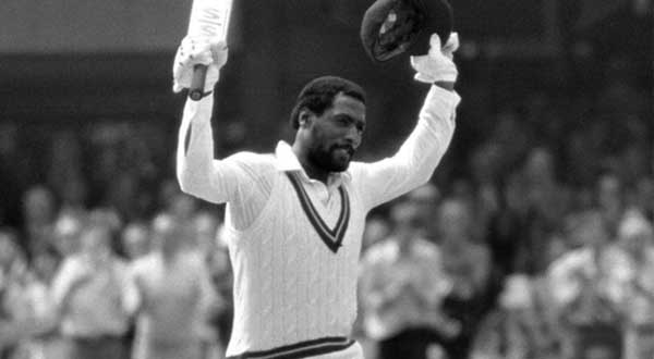 Viv Richards scores a 100 in the World Cup Final