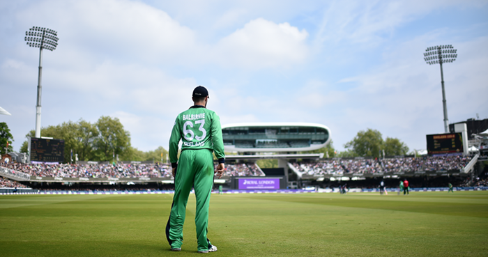 Ireland play England in an ODI at Lord's in 2017