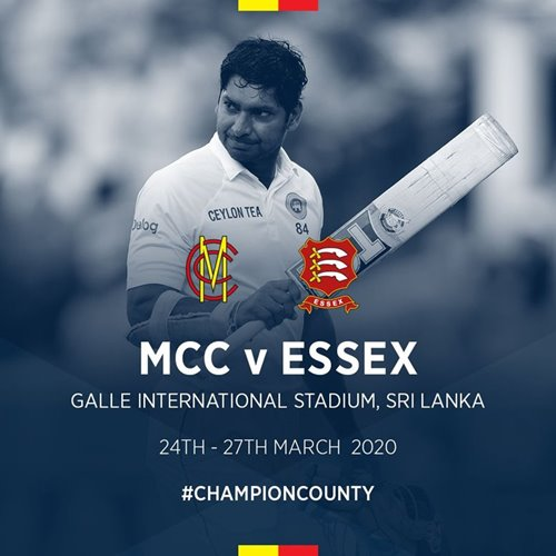 Kumar Sangakkara to captain MCC in Champion County