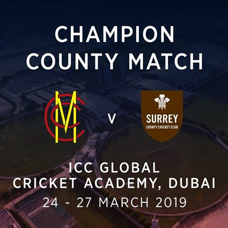 Champion County match graphic.